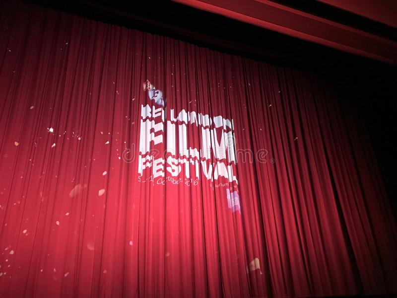 London-Film-Festival stockfotografie