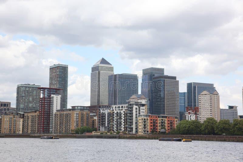 Download London Financial Hub stock photo. Image of skyline, river - 28081440