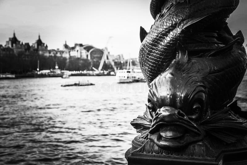 London Fisher stockbild
