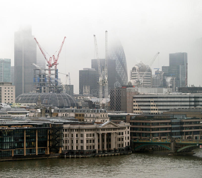 Download London fog stock image. Image of outdoor, city, buildings - 28098843