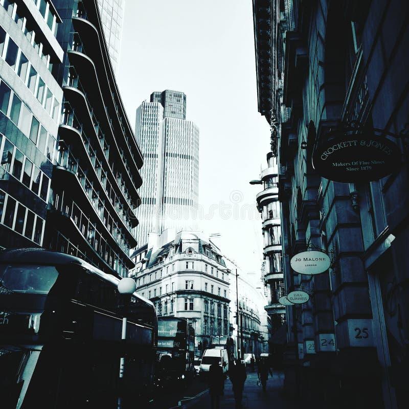 London gata royaltyfri foto