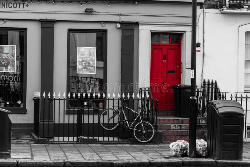 London gata royaltyfri bild