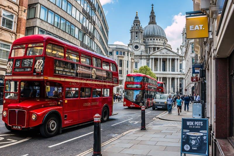 london gata HDR stilbild fotografering för bildbyråer