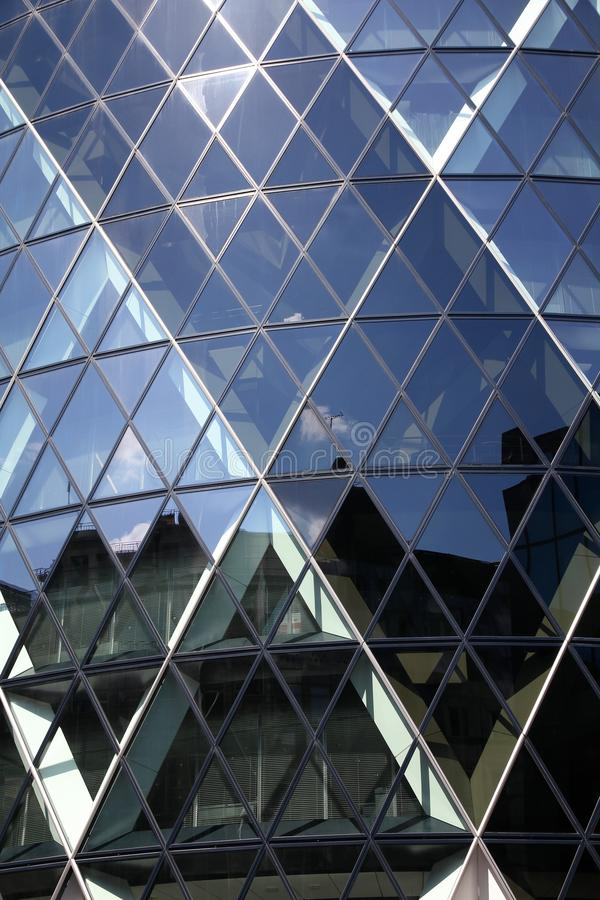 London Gherkin stock photography