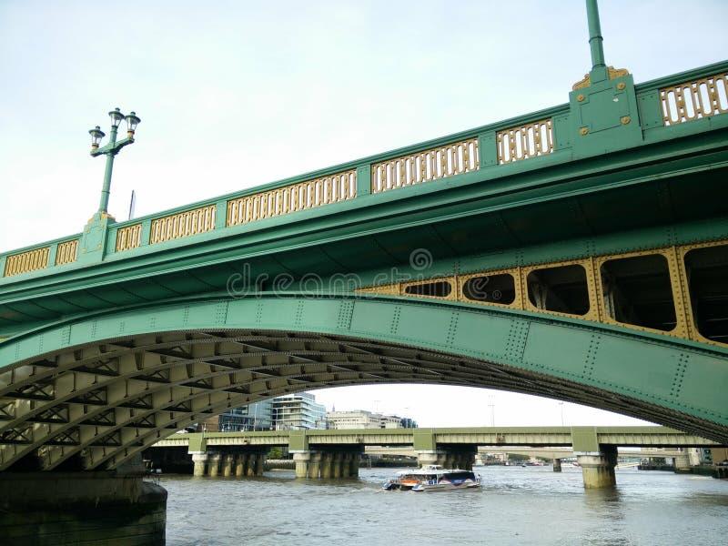 London Green Bridge stock photo