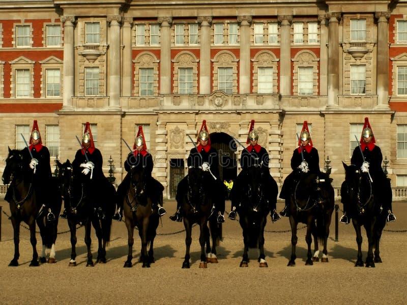 London guard stock image