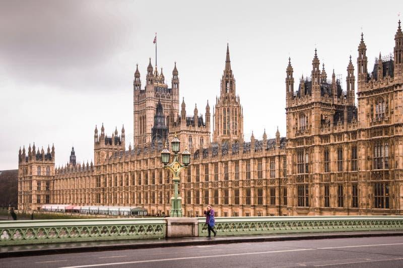 London-Haus des Parlaments stockfotografie