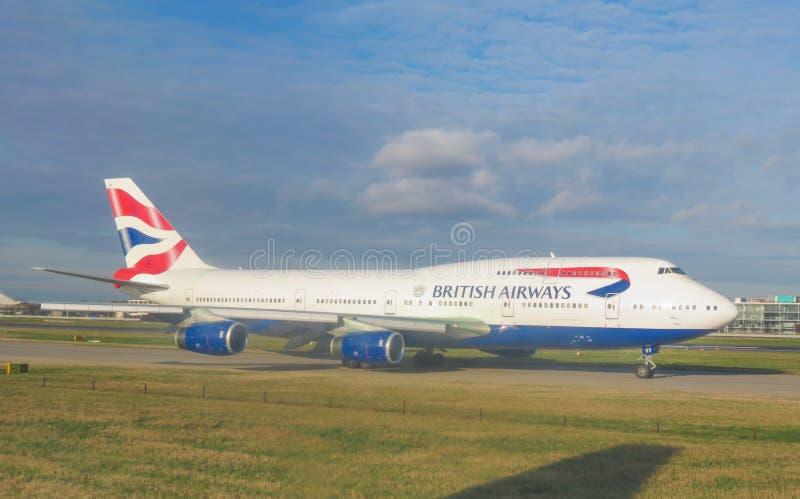 London Heathrow airport stock photography