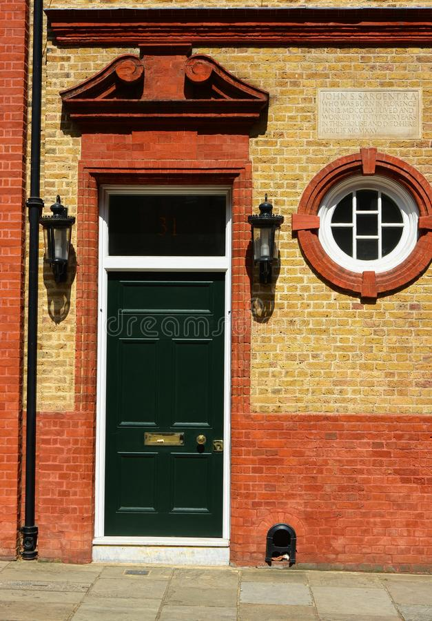London hem av målaren John Singer Sargent arkivbilder
