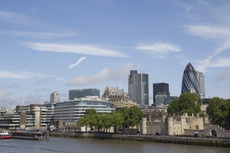 london horisont royaltyfri foto