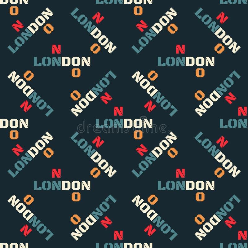 London idérik modell vektor illustrationer