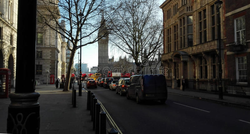 London jesieni zdjęcia stock