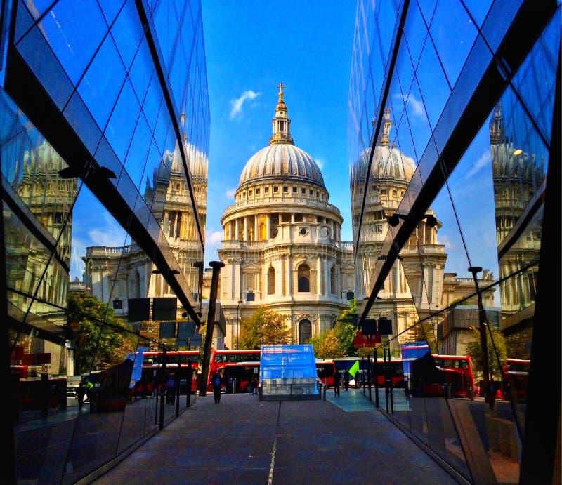 London katedralny Paul jest st zdjęcie royalty free