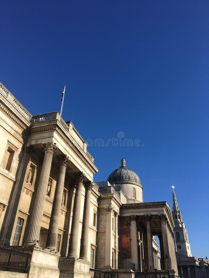 London krajowych galerii obraz stock