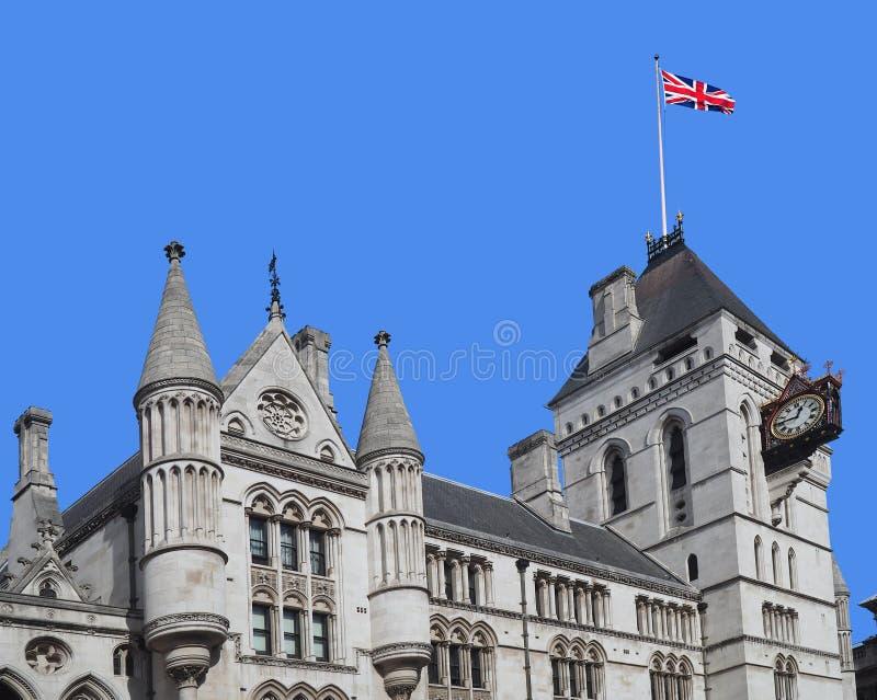 London kungliga domstolar av rättvisa arkivfoto