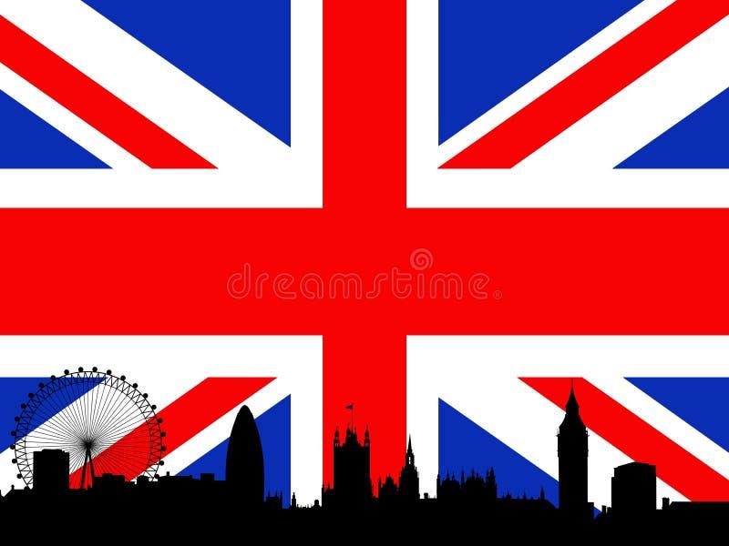 london linia horyzontu ilustracja wektor