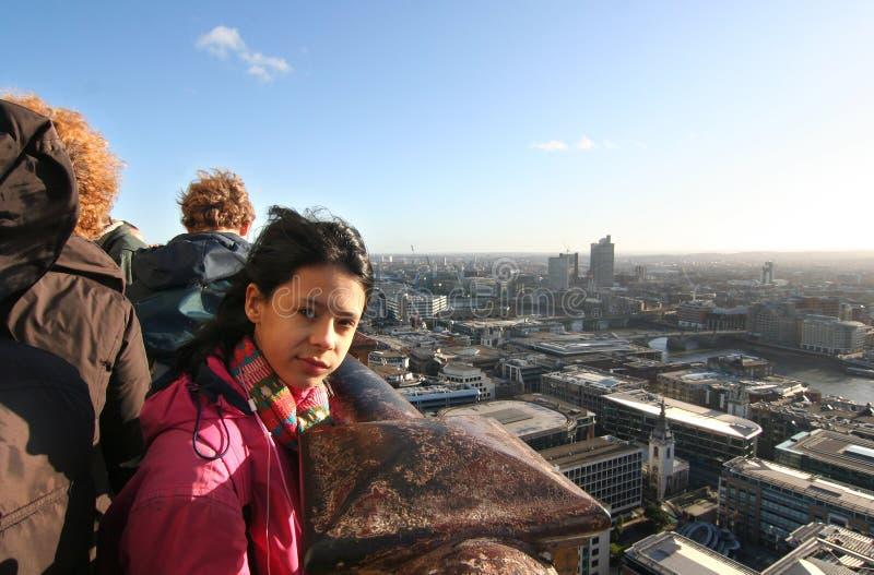 London-Mädchen stockfotos