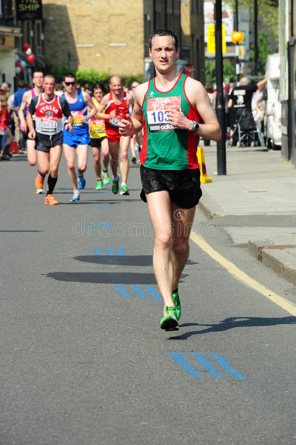 London-Marathon 2011 stockbild