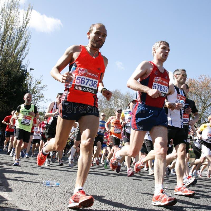 London Marathon, 2012 Editorial Stock Image