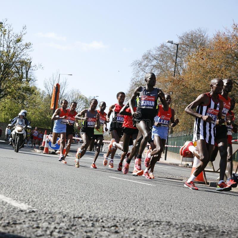 london maraton 2012 fotografering för bildbyråer