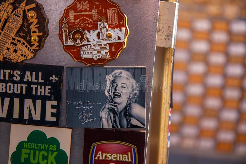 London marknad royaltyfria foton