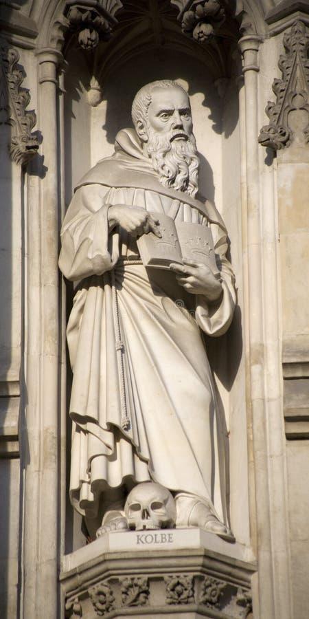 Free London - Maximilian Kolbe Statue Stock Photos - 11050983