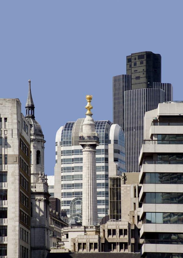 London miasta monument linia horyzontu fotografia stock