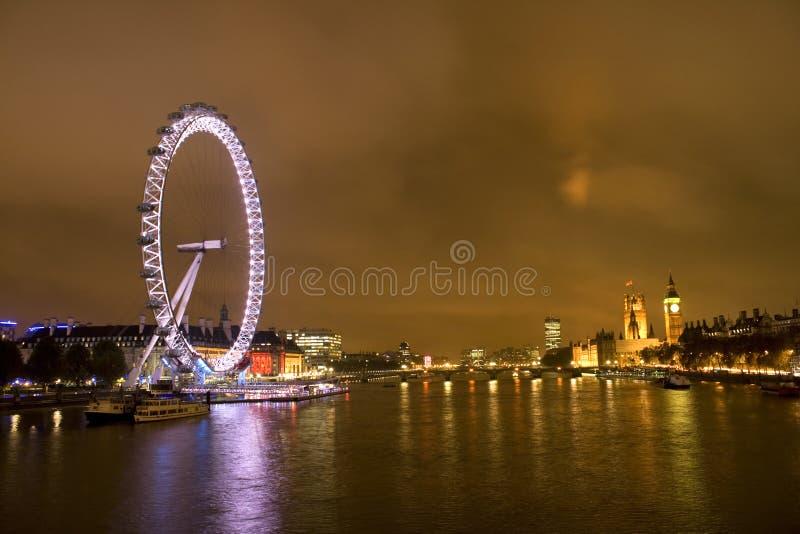 Download London Millennium Eye And Big Benat Night Editorial Photo - Image: 16973386