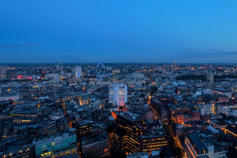 London-Mittelpunkt Wiew lizenzfreies stockfoto