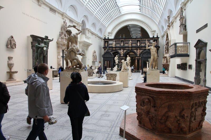 London-Museum lizenzfreie stockbilder