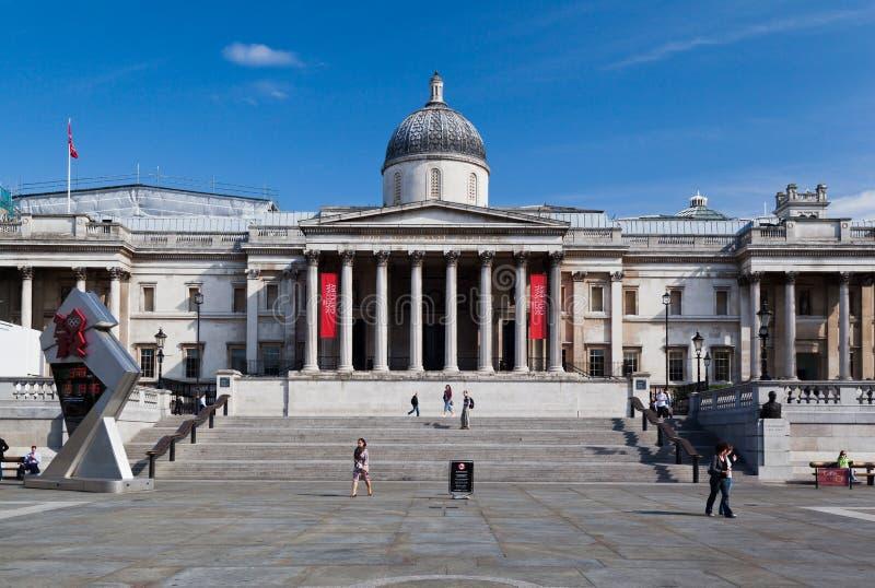 London-National Gallery stockfotos