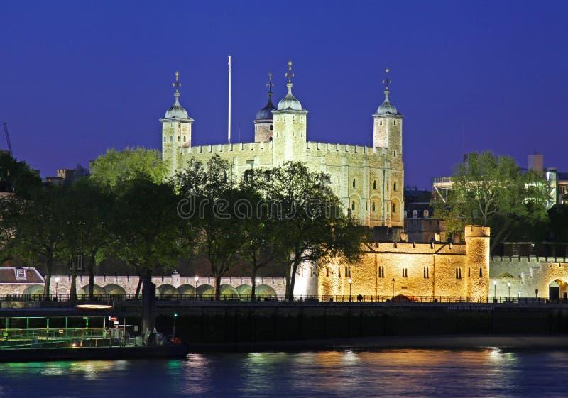 london natttorn fotografering för bildbyråer