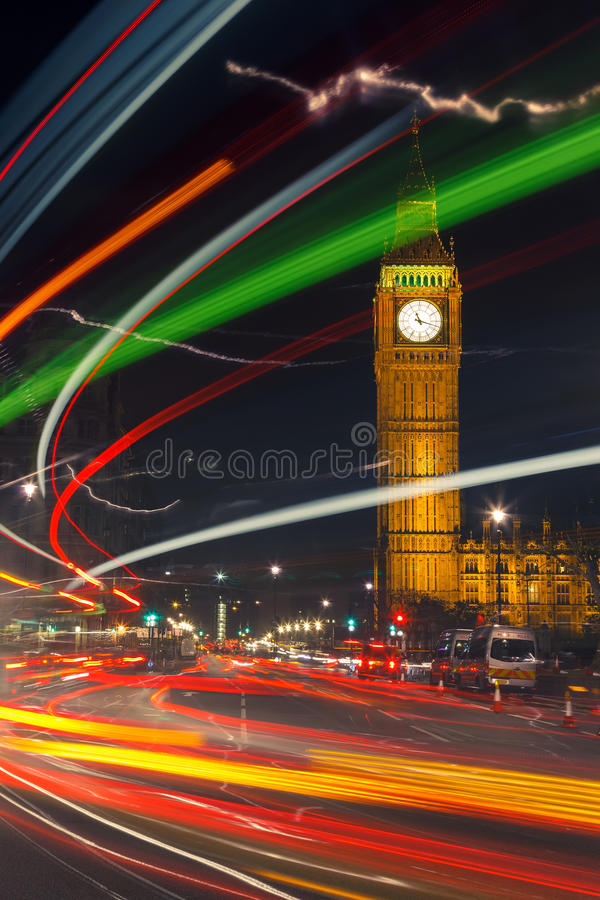 Download London at night stock photo. Image of outdoors, tower - 27919992