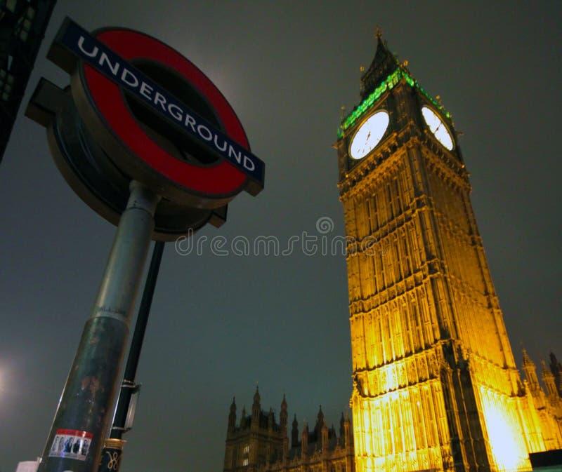 London Night royalty free stock photos