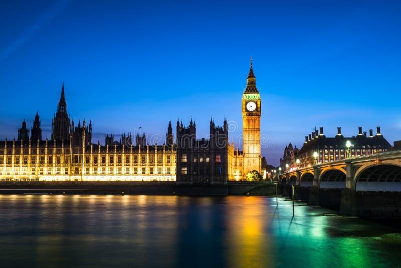 Download London at Night stock image. Image of england, dusk, night - 57181027