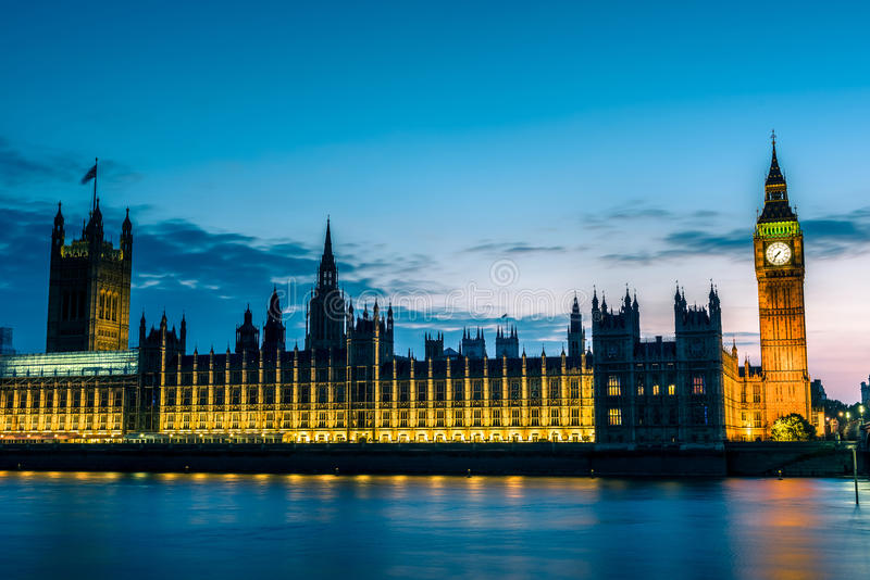 Download London at Night stock image. Image of dusk, abbey, historical - 57181183