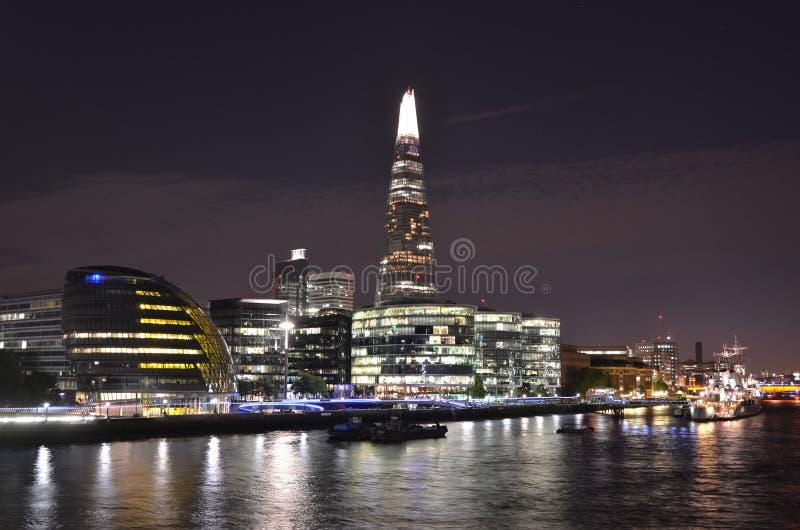 london noc zdjęcia stock