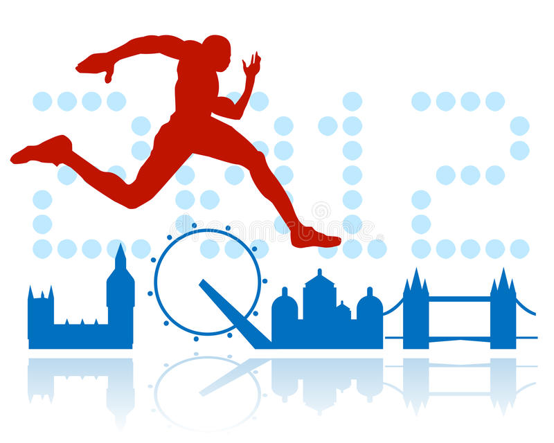 London olympic games design stock illustration