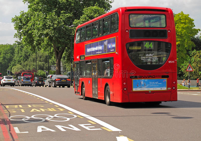 Download London Olympic Lane editorial stock photo. Image of event - 34047333