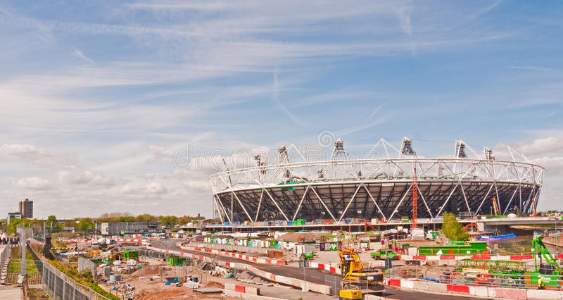 london olympic lokal arkivbilder