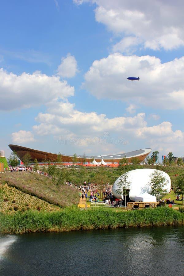 London Olympic Park Velodrome royalty free stock photos
