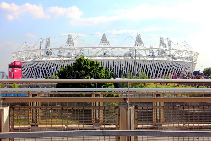 london olympic stadion arkivfoton