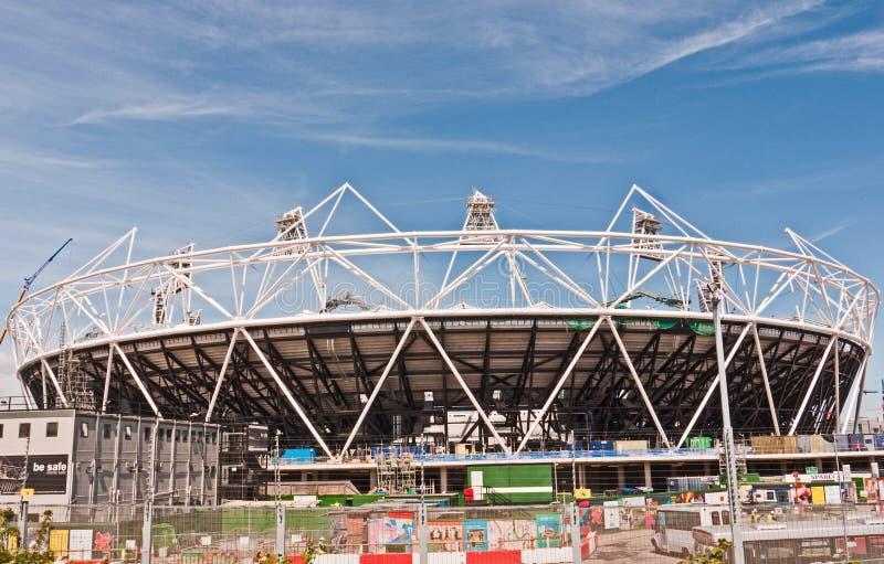 london olympic stadion arkivbild