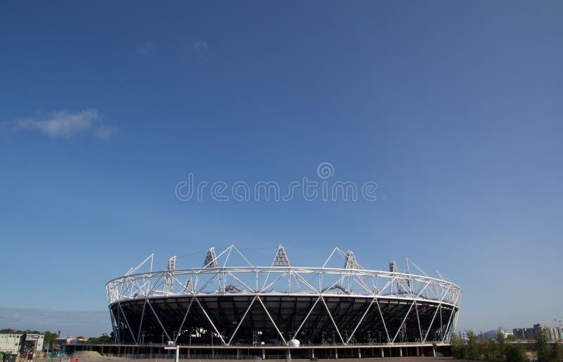 london olympic stadion arkivfoto