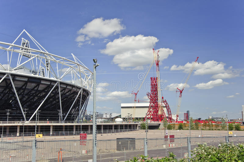 Download London Olympics 2012 Stadium Nears Completion Editorial Photo - Image: 19788206