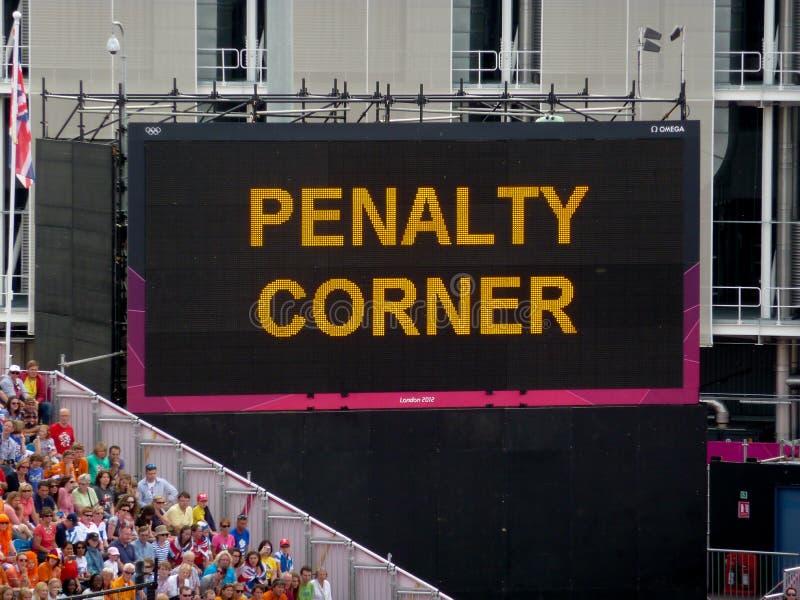 Download London Olympics Games 2012 Hockey Stadium Penalty Editorial Photo - Image: 43949816