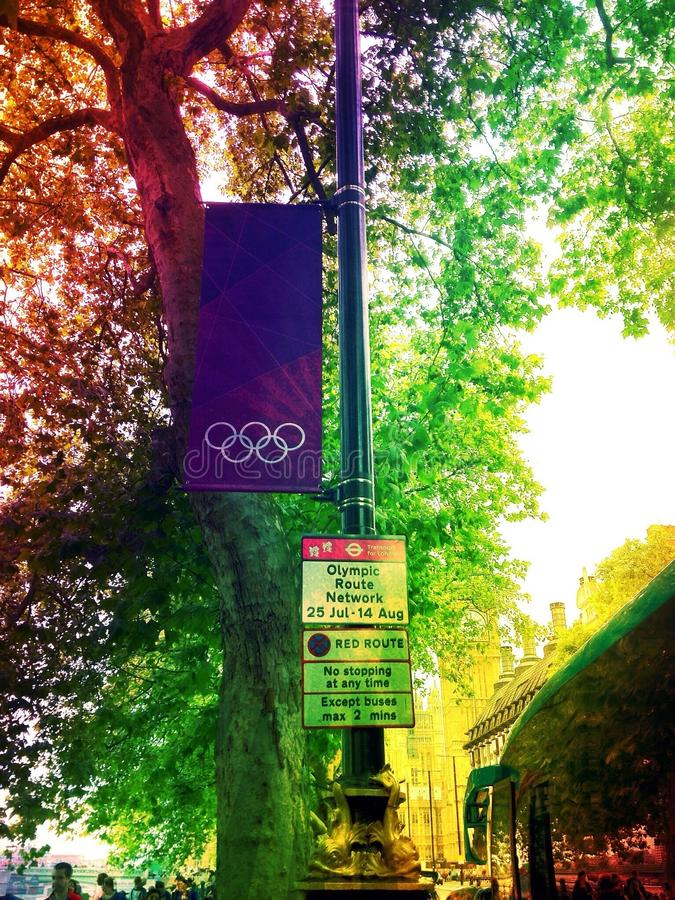 London Olympics stock images