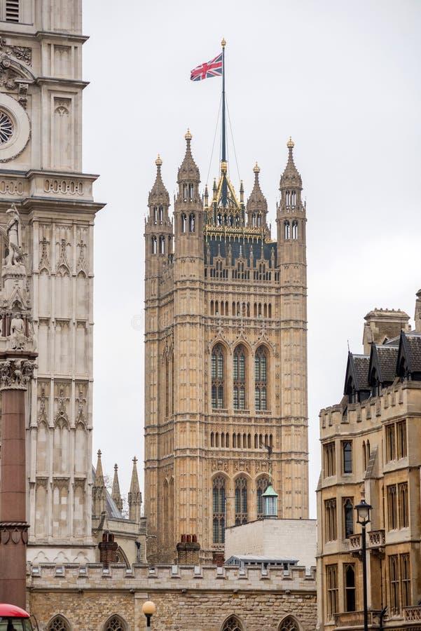 london pałacu Westminster obrazy royalty free