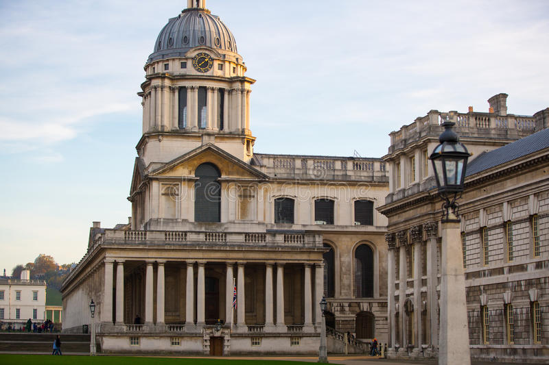 Download LONDON Painted Hall At Sunset South Of London Classic Architecture British