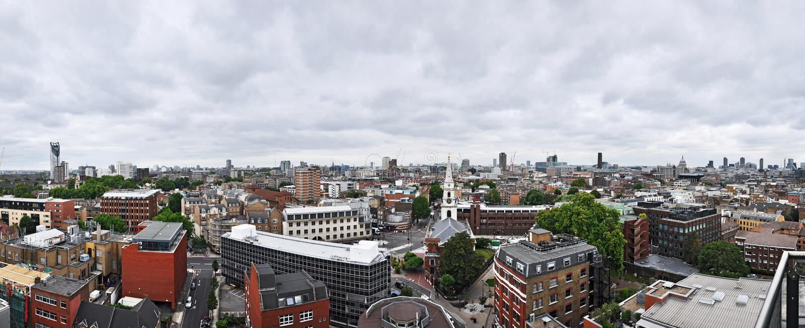 Download London Panorama stock image. Image of cloud, cathedral - 20755385